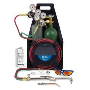Miller Smith Tl 550 Tag a long Acetylene Outfit With Tanks