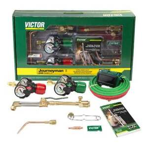Victor 0384 2111 Journeyman Ii Edge 2 0 Plus Acetylene Cutting Torch Outfit