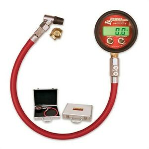 Longacre Racing Products 53000 Pro Digital Tire Pressure Gauge 0 60 Psi W case