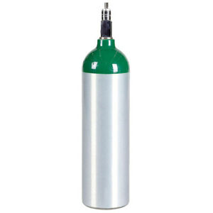Jumbo D Aluminum Medical Oxygen Cylinder New 22 9 Cu Ft Cga870 Post Valve