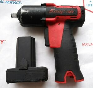 Snap on Ct761ao 14 4 Volt 3 8 Drive Cordless Impact Wrench W 1 Battery