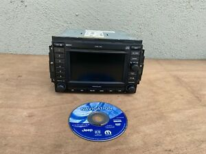 Dodge Chrysler Jeep Cd Changer Dvd Gps Navigation Stereo Radio Rec 05064184al