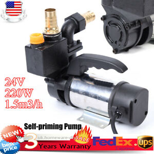 220w Jet Water Pump W double Suction Self priming Stainless Steel Booster Pump