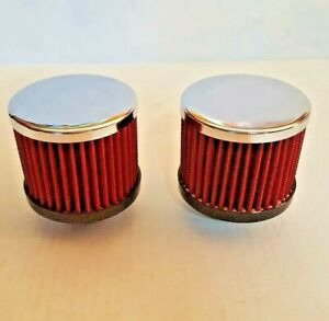High Flow Red Valve Cover Breathers For 1 1 4 Valve Covers