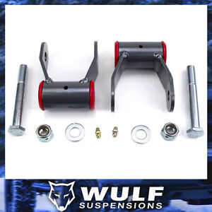 Wulf 2 Drop Shackle Lowering Kit For 1989 1997 Ford Ranger 2wd 4wd