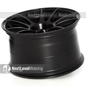 Circuit Cp32 18 9 18 10 5 5 114 3 Black Wheels Staggered Fits Nissan 350z 370z