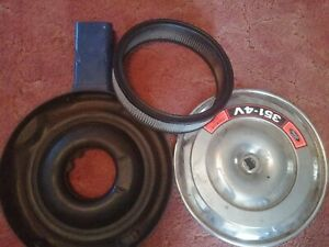Ford Code 351 4v Air Cleaner Filter Bowl Assembly Unrestored