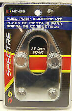 S B Chevy Chrome Fuel Pump Mounting Plate Kit 283 327 350 400