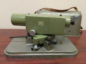 Vintage Wild Heerbrugg Leica Na2 Surveying Level Case free Shipping