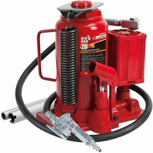 Torin Big Red Air Hydraulic Bottle Jack 20 Ton