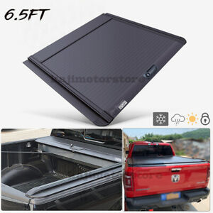 Hard Roll Up Tonneau Cover Retractable For Dodge Ram 1500 Truck 09 19 6 5ft Bed