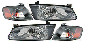 For 1997 1999 Toyota Camry Headlight Driver Left And Passenger Right Side 4 Set