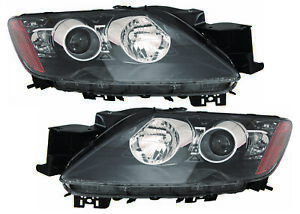 For 2001 2002 2003 2004 2005 Ford Explorer Sport Trac Headlights Pair Set