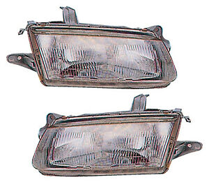 For 1995 1996 Mazda Protege Headlights Pair Set
