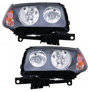 For 2004 2005 2006 Bmw X3 Headlights Pair Set