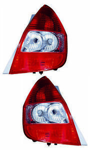 For 2007 2008 Honda Fit Tail Lights Pair Set