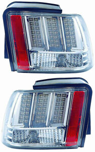 For 1999 2004 Ford Mustang Tail Light Pair Set