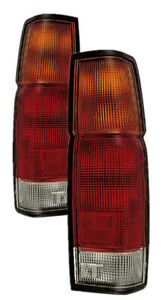 For 1986 1997 Nissan Pickup Truck Tail Lights Pair Set