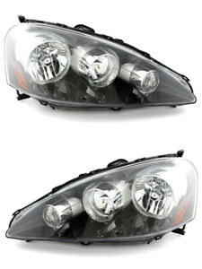 For 2005 2006 Acura Rsx Headlights Pair Set