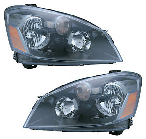 For 2005 2006 Nissan Altima Hid Headlights Pair Set
