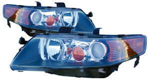 For 2004 2005 Acura Tsx Headlights Pair Set