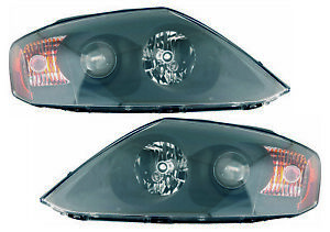 For 2005 Hyundai Tiburon Headlights Pair Set