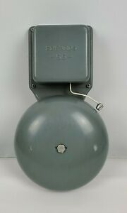 Edwards 55 Fire Alarm Signalling Bell Good Condition