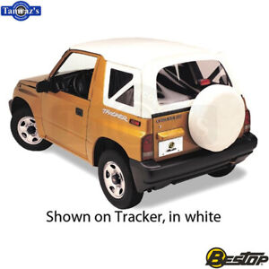 1995 1998 Chevrolet Geo Suzuki Tracker Replace a top Fabric only Soft Top Blk