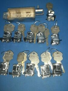 10 Security Bx Safe Deposit Locks Renter 6 Pin Cylinders