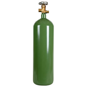 New 60 Cu Ft Steel Oxygen Cylinder Cga540 Oxyacetylene Welding Dot Approved