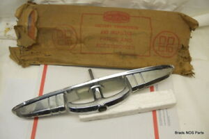 Nos Mopar 1951 1952 Dodge D 41 2 Dr Cpe Luggage Lid Chrome Handle Assy 1490042