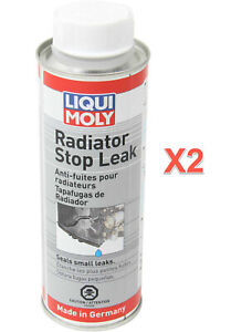 2 X 250 Ml Radiator Stop Leak Liqui Molly Universal Small Leaks Made N Germany