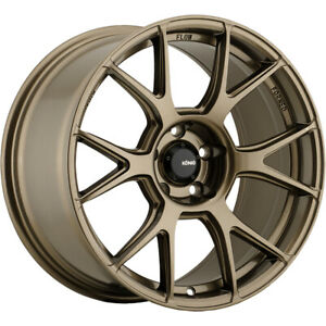 2 New 19x10 Konig 56bz Ampliform Wheels Rims 28 5x120