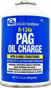 R134a Pag Oil Charge W O Ring Conditioner Interdynamics Quest 309 11 5oz 1can