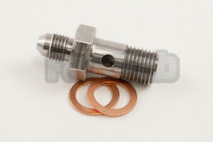 4an Vanos Oil Feed Fitting For Turbo And Supercharger Bmw M3 Seals Included