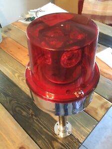Dietz 261 Rotating One Bulb Red Emergency Light