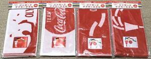 2020 Tokyo Olympic Game Coca Cola Towel Japan Limited 4 pcs Collectable FedEx