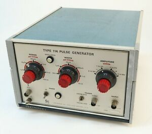 Tektronix Type 114 Pulse Generator