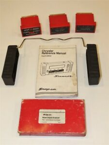 Snap On Mt2500 Cartridge Lot Asian Imports Ford Chrysler Manual Vhs More