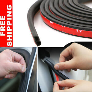 13ft 4m Car Truck Door Rubber Weather Seal Hollow Strip Weatherstrip B Shape