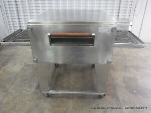 Xlt 2440 Natural Gas Single Stack Conveyor Pizza Oven