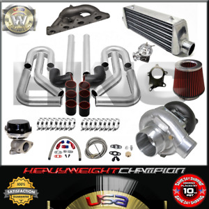 Turbo Kit T3 T4 For 00 05 Eclipse Rs Gs 4g64 Galant 2 4 Ic Pk Wg Bov Manifold Bk