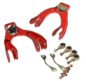 92 95 Civic Eg del Sol Dc2 integra Front Camber Control A arm Bushing Kit Red