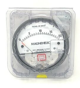 Dwyer Instruments Magnehelic W24w 15 Psig New unused Surplus