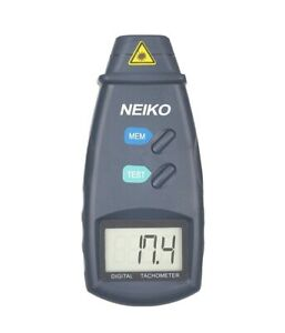 Neiko 20713a Digital Tachometer Non Contact Laser Photo 2 5 99 999 Rpm