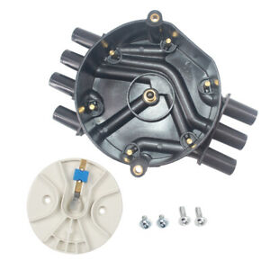 Ignition Distributor Cap Rotor Kit For Chevy Cadillac Gmc V6 4 3l Dr475 D328a