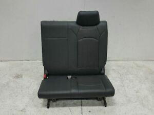 2010 Buick Enclave Rear Third Row Left And Center Bench Seat Leather Oem 98834