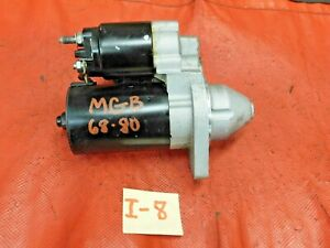 Mgb Mgb Gt Starter Motor Late Replacement Small Case Style