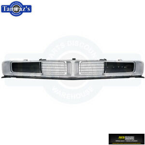 1969 Dodge Charger Front Grill Grille Set Silver Oer