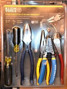Klein Tools 94126 Apprentice Tool Set For Trade Professionals 6 pc New